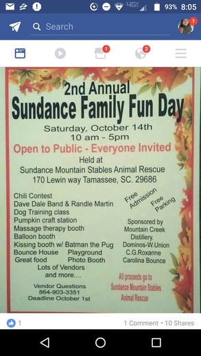 Sundance Mountain Stables Animal Rescue