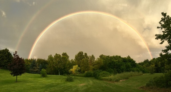 Double Rainbow panoramas