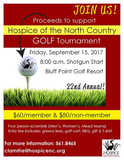 Hospice of the North Country Golf Tournament