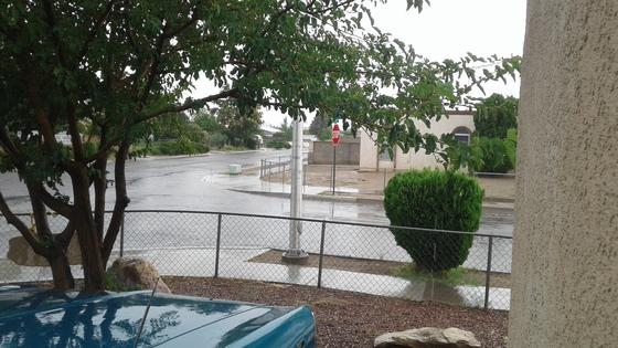 Raining lot