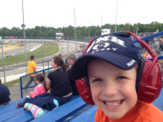 Enjoying the race