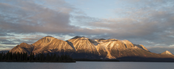 Birch Mtn. on Teresa Island, Atlin Lake, B.C.