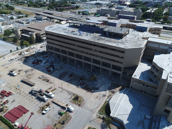 Creighton Hospital tear down