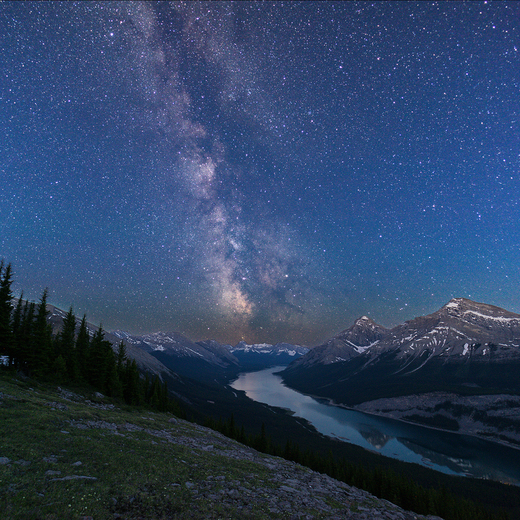 1a. The Great Trail meets the Milky Way