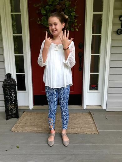 First Day Gettys Middle School