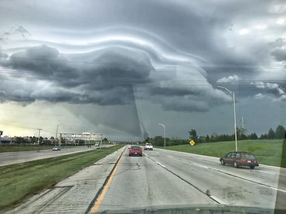 Cloud Formation in Shawnee