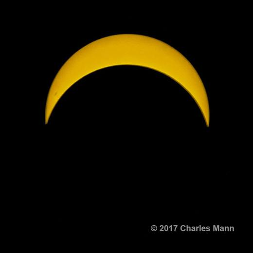 2017 Eclipse in North East Maryland