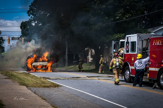 Car Fire 8/30...Patterson Ave Winston Salem