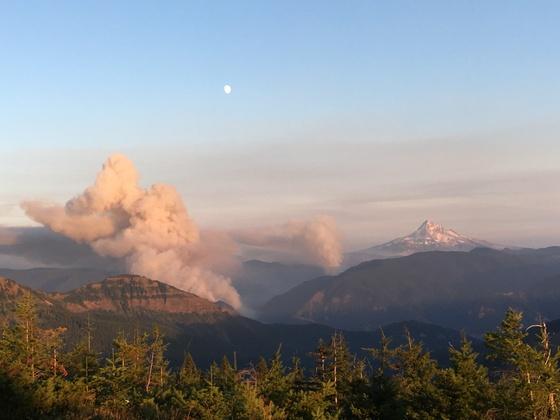 Eagle Creek Fire Oregon