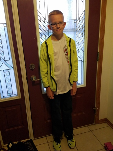 First day of 5 grade