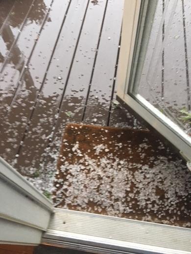 Hail in Hays