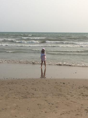 Big Waves Long Beach Ontario Ca