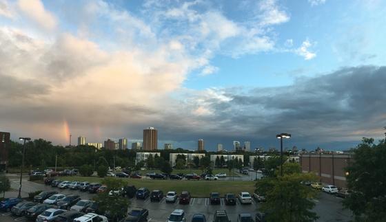 Rainbow Skyscraper