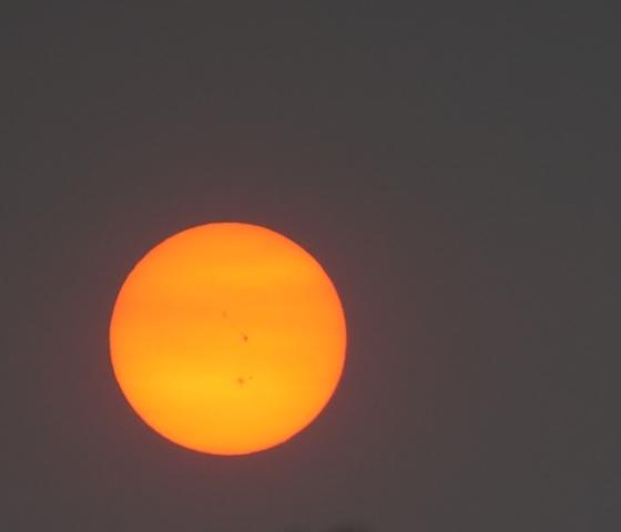 Labor Day sunset in Desoto