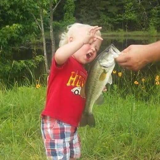 My 2 year old grandson