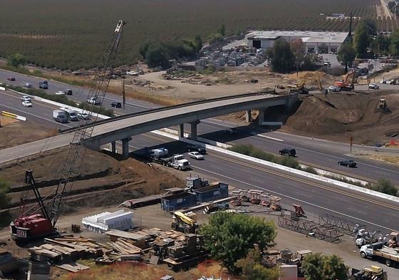 Midway bridge demolition