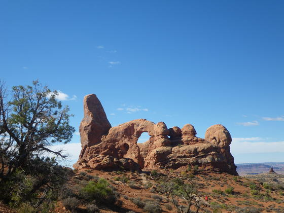 The Arches National Park