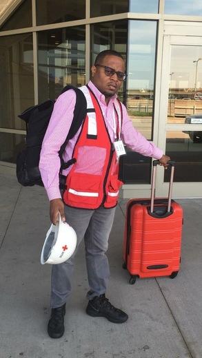 American Red Cross Volunteer Being Deployed to Hurricane Territory