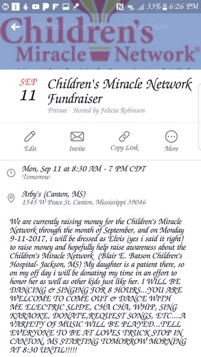 Children's Miracle Network Fundraiser