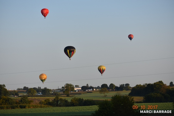 Hot Air Balloon chasing
