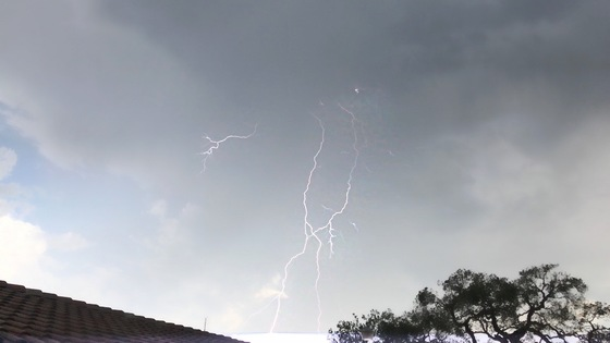 Thunderstorm in Watsonville ca
