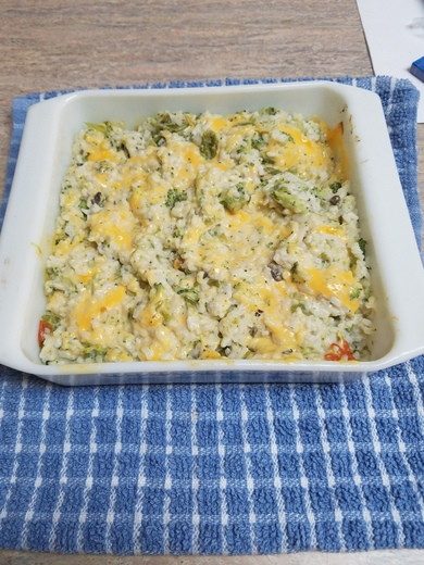 Michaels Green Chili, Broccoli and Rice Casserole