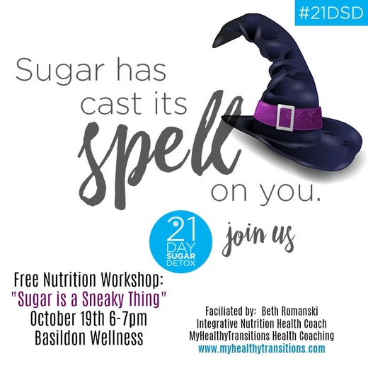 """""""Sugar is a Sneaky Thing"""" Nutrition Workshop"""