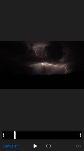 rain of lightning