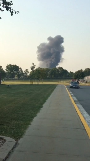 Smoke Blume as seen from LS North High School