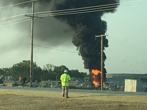Industrial plant fire 9/13 and in Lee Summit