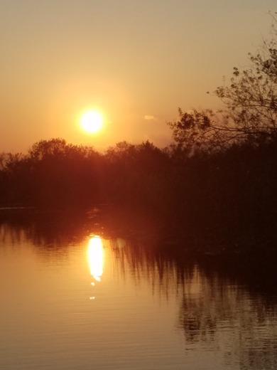 Sunset Okeechobee