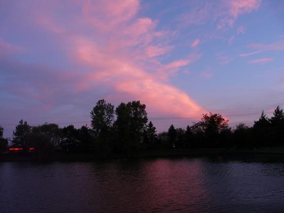 Pinkish Southern Sky
