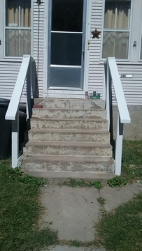 Painted my railings