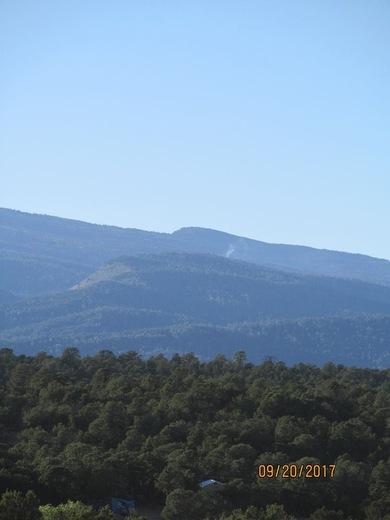 Sandia East Mountains Smoke