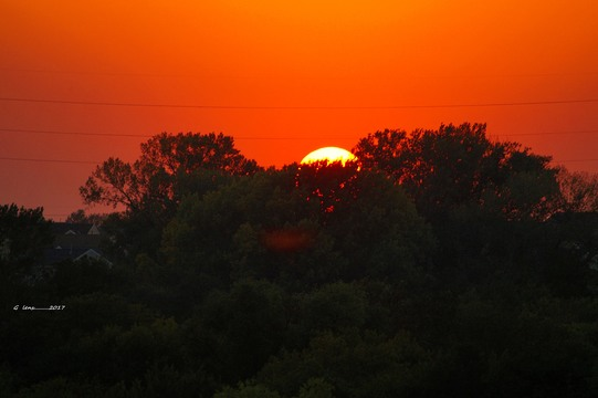 Sunset At chalco recreation area