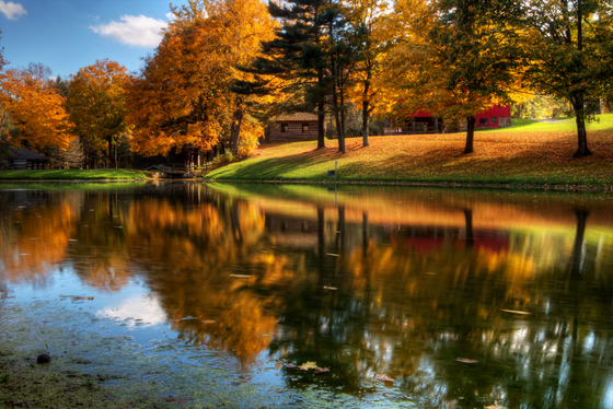 Places of Interest / Scenic Views Category Winner - Beaver Creek State Park in Fall Colors