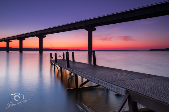 Sunrise at Saylorville Lake - Photo by Dave Austin