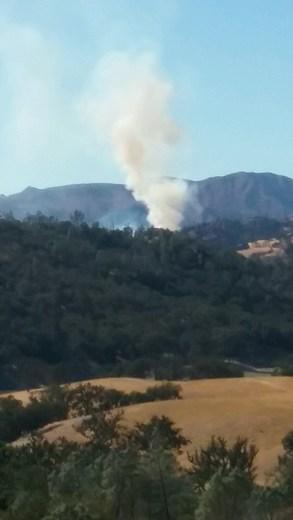 Lake Nacimiento fire