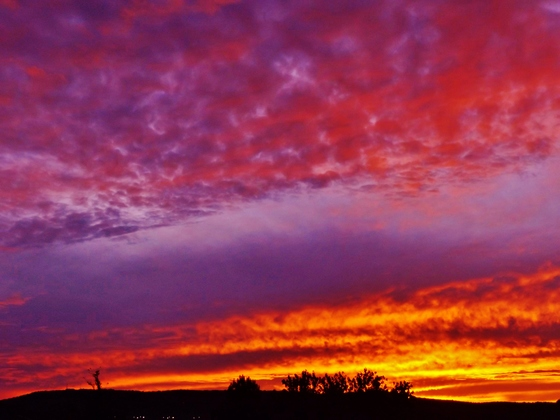 sunset clouds, 9-28-2017