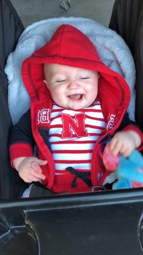 Biggest little Husker fan!