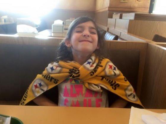 Carrington is the Ultimate Steelers Fan!
