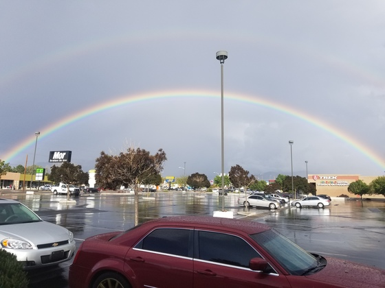 Beautiful Rainbow Menaul & San Mateo