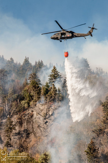 North Woodstock Forest Fire