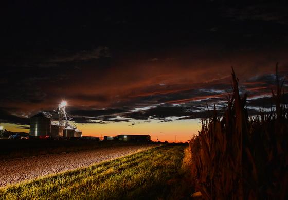Harvest season has begun