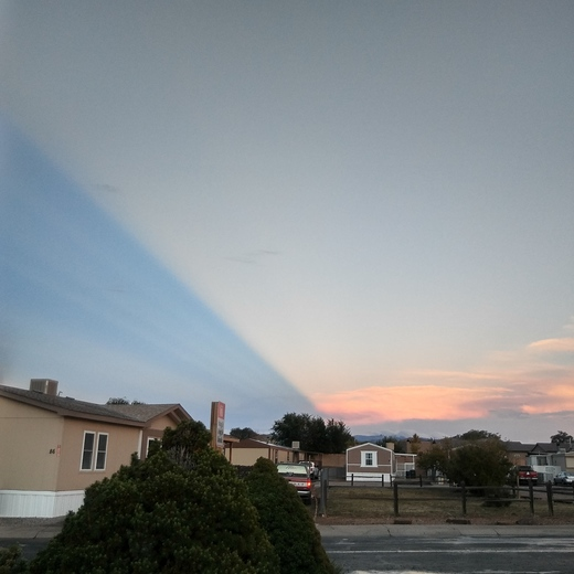 Unusual clouds