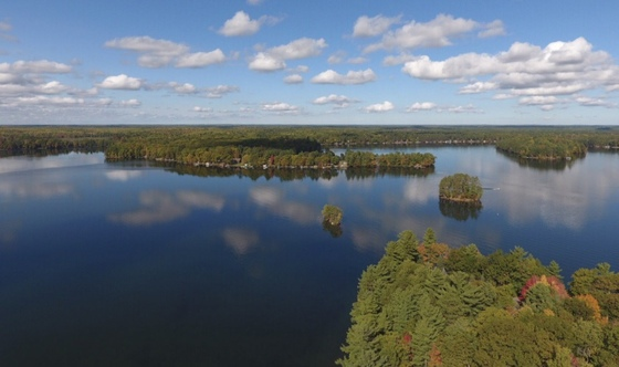 A beautiful day in Minocqua.