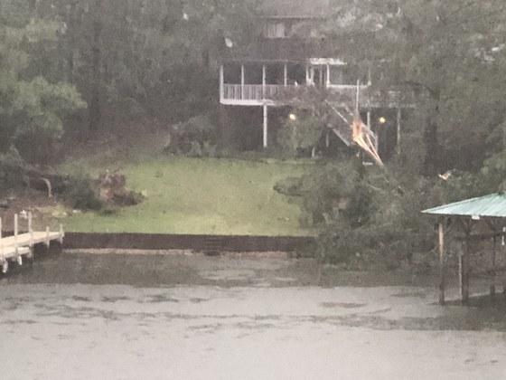Lake Greenwood storm damage