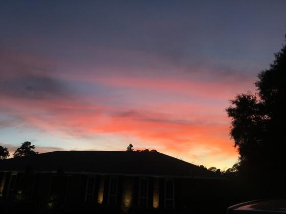 Sunset from Slidell