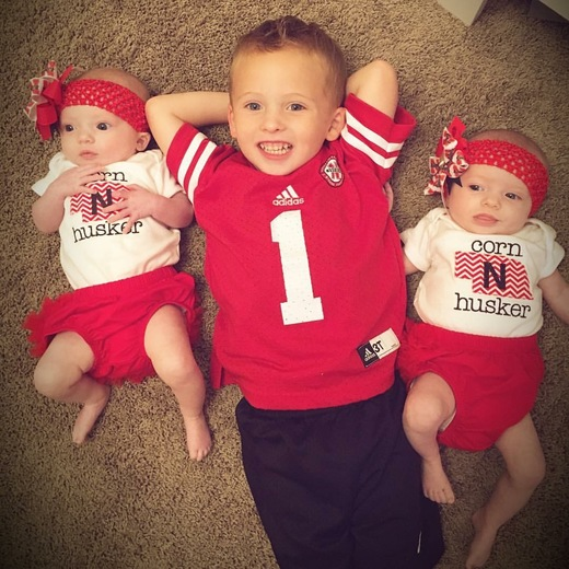 Husker Babies!