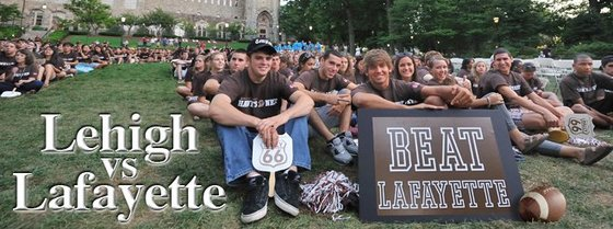 Lehigh University vs. Lafayette College Football Rivalry